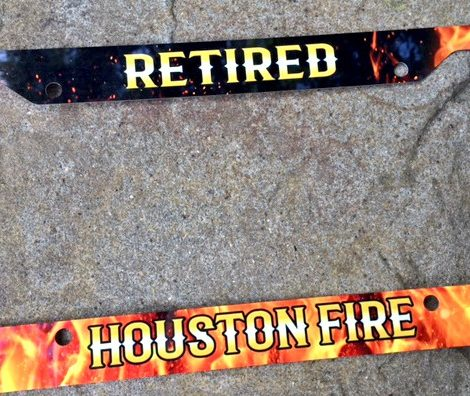 Retired HFD License Plate $13.00