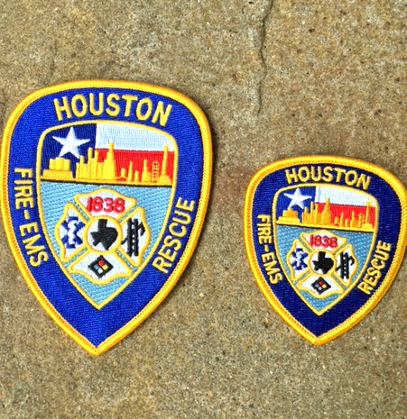 Iron on HFD Patch