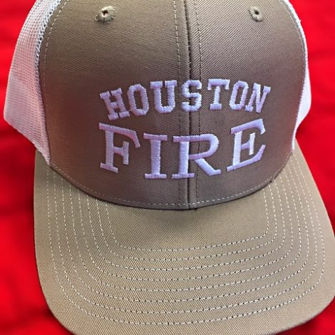 Khaki and White Richardson Trucker Resize