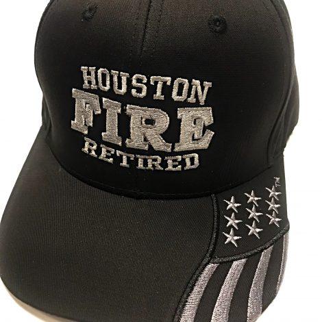 Retired Black Patriot Hat