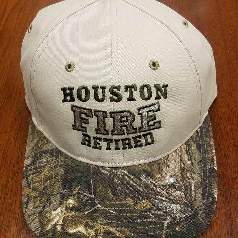 Houston Fire Camo Retired new